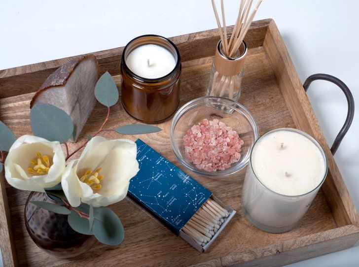 Pin for Later: How to Create an Indulgent Spa Atmosphere at Home Add Spa Decor Touches