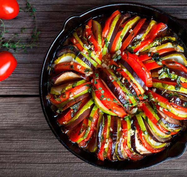 Ratatouille ©GreenArt #gastronomie #vegetables #legumes