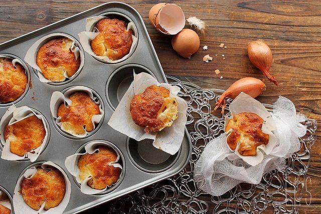 Muffins au munster, lardons et échalote   Emilie and Lea's Secrets