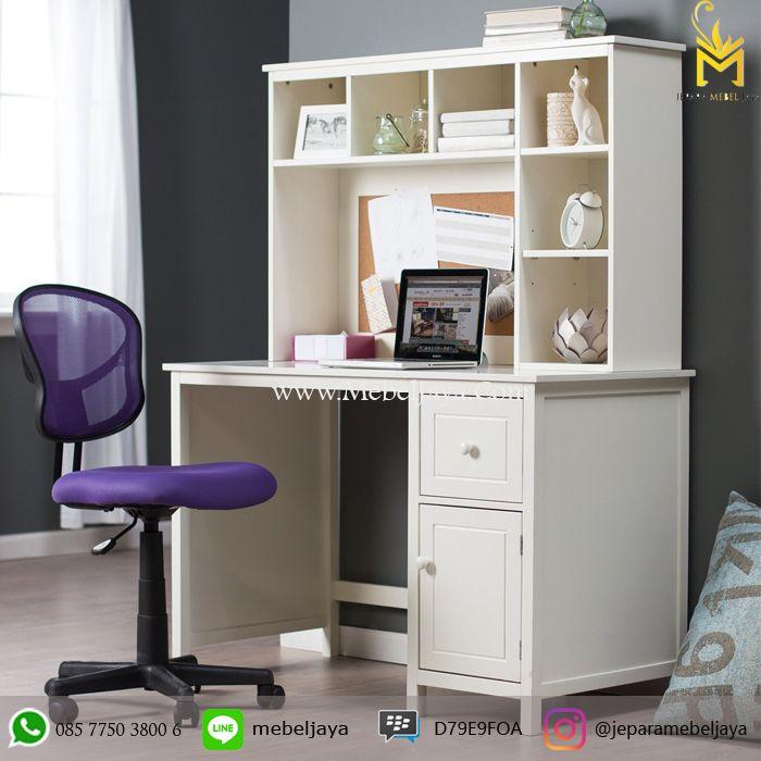 Harga Meja Kerja Warna Putih - Meja Kantor dengan desain menarik dan ekonomis untuk menaruh perlengkapan kantor lebih praktis dan tetap kesan mewah