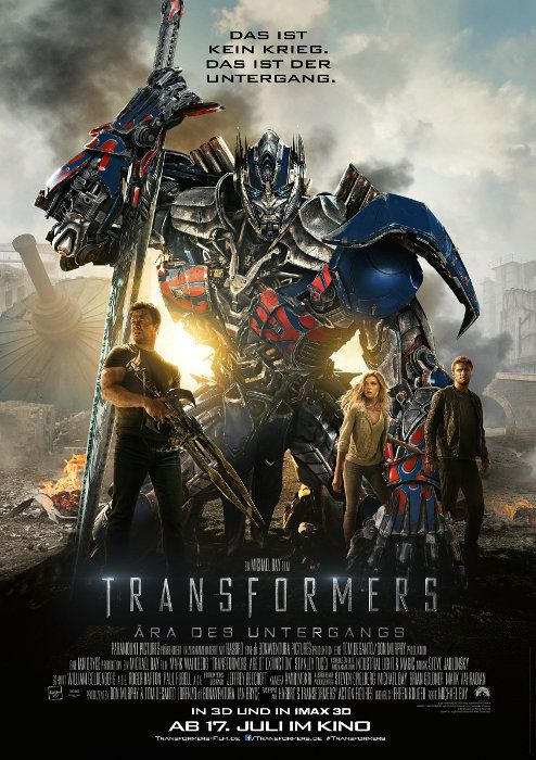 Poster zum Film: Transformers - Ära des Untergangs