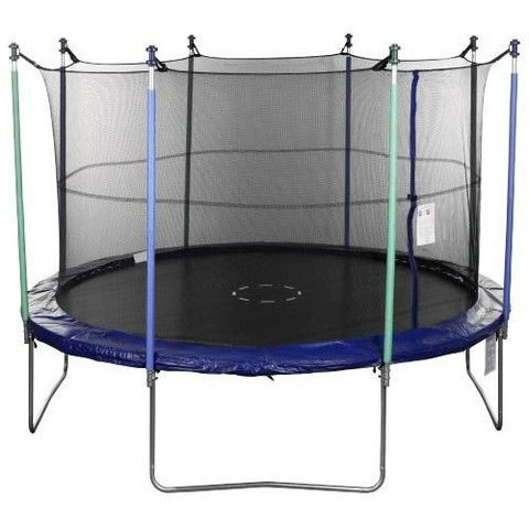 Trampoline Part Store® 14' foot- 8- Strap Trampoline Replacement Safety Net, Fits Only 8-pole or 4-arch- 14' Safety Enclosures
