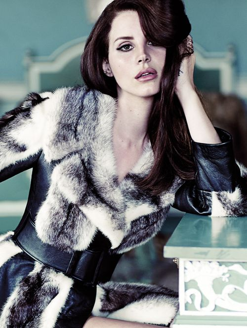 Lana Del Rey for Fashion Magazine (HQ) See the full shoot here