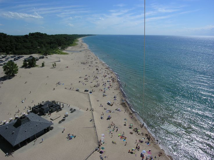 44 Best Michigan State Parks Images On Pinterest: Warren Dunes State Park Trail Map At Usa Maps