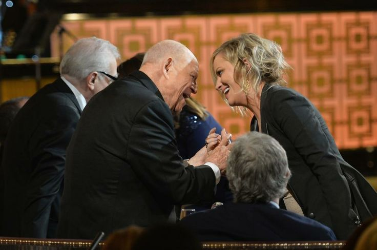 Don Rickles and Amy Poehler match wits at Spike TV's Rickles tribute.