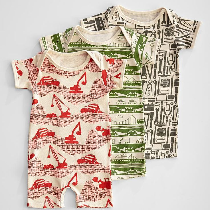 Gift idea for new baby - winter water factory summer romper from RedEnvelope.com