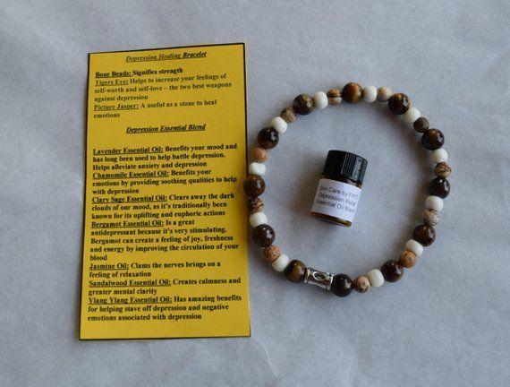 Blues Buster Aromatherapy Bracelet Beaded Bracelets Gifts For Him Women S Bracelet Men S Bracelet Gifts For Her Essential Oil Blend Aromatherapy Bracelet Aromatherapy Gifts Aromatherapy