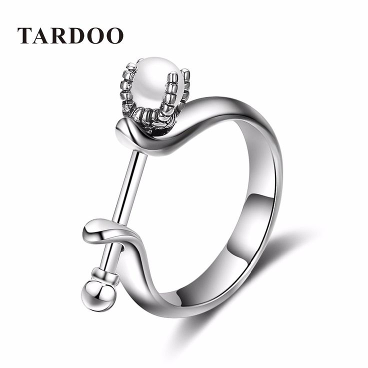 Tardoo Unique Design Trendy 925 Sterling Silver Rings for Women Real White Pearls Ring Romantic Fine Jewelry