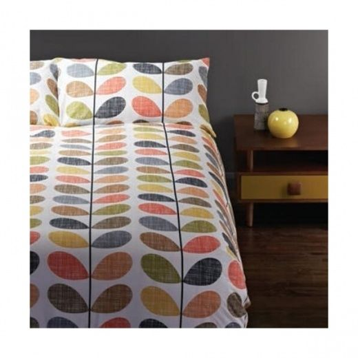 Orla Kiely Scribble Multi Stem King Size Duvet Cover