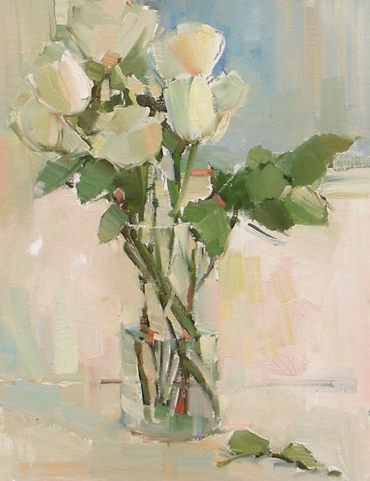nancy franke artist | Nancy Franke, Musings on Painting: White Roses, and Painting with ...