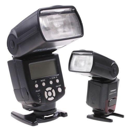 YONGNUO Digitale SPEEDLITE YN560 II Flash (Flash Gun), per Nikon D700, D300, D100, D90, D60, D3, D2, D1, D7000, D5000, D5100, D3100, D3000, CANON EOS 1Ds, 5D, 7D, 30D, 40D, 400D, 450D, 500D, 550D, 1000D, Olympus E620, E520, E510, E500, E420, E3, Pentax, K20D, K200D, Fuji S5 Pro DSLR