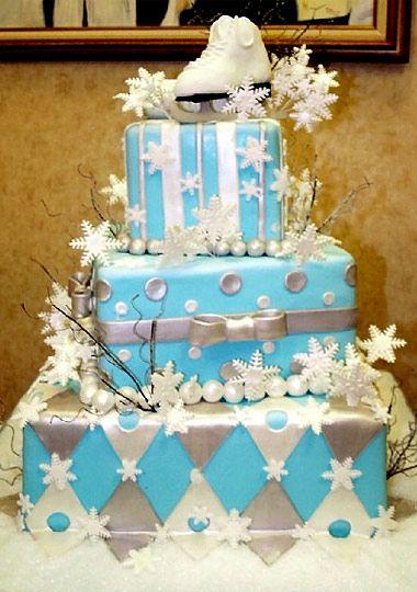 Ice Skating Cake!