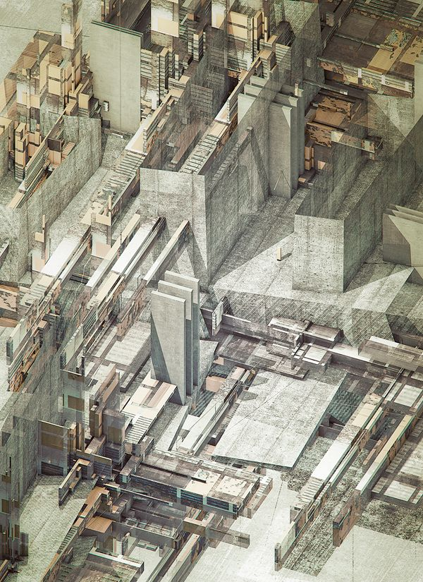 "Atelier Olschinsky's ""Structures"" series. via Volume."