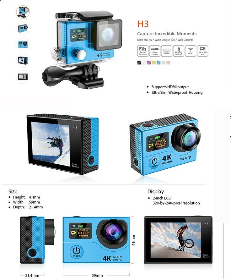 new products innovative product waterproof 4k sport camera 1080p mini camera view sport camera