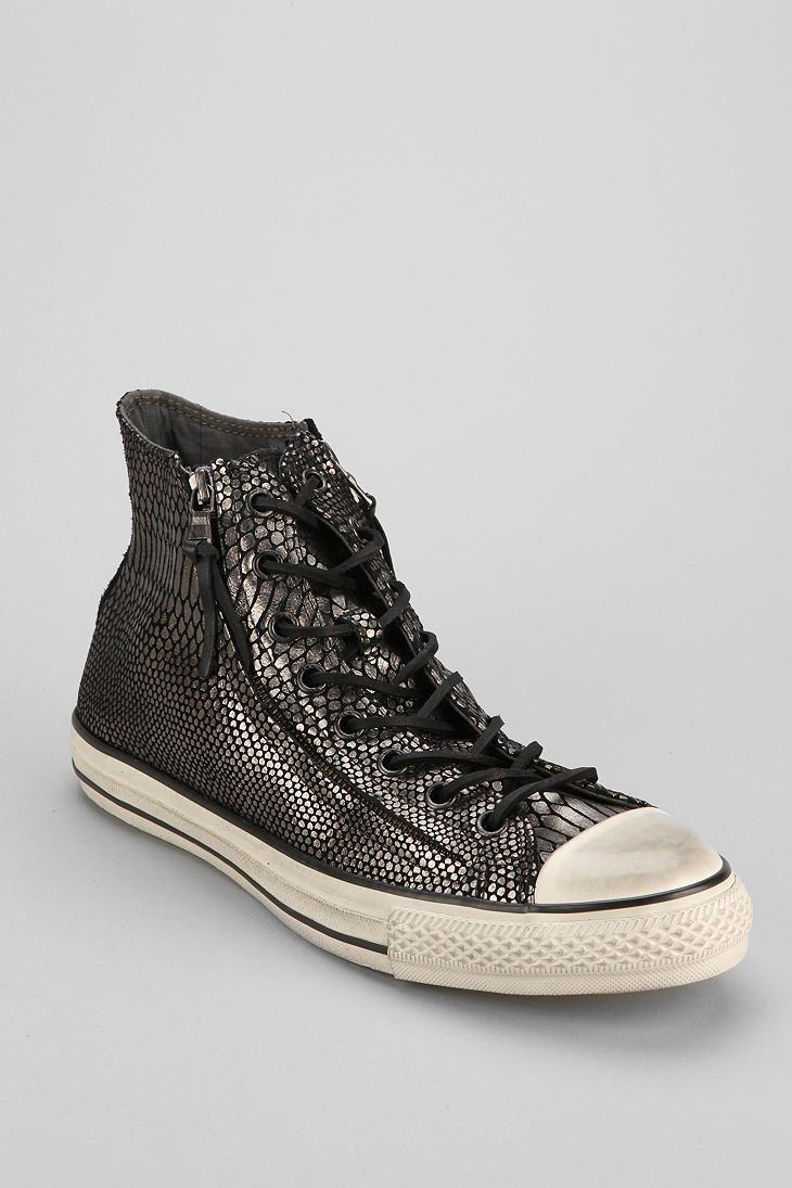 Converse Chuck Taylor All Star John Varvatos Double-Zip Snake High-Top  Sneaker
