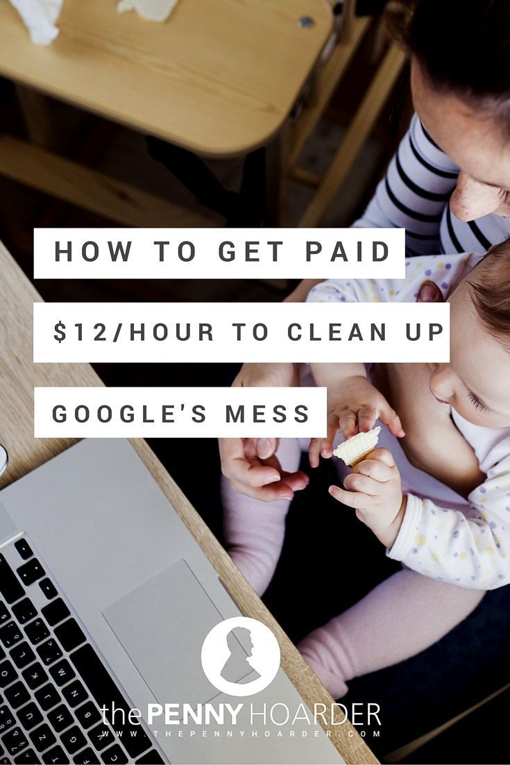 I'll make about $700 this month for cleaning up Google's search engine. And Yahoo's search engine. And Bing's. All from the comfort of my pajamas - The Penny Hoarder www.thepennyhoard...