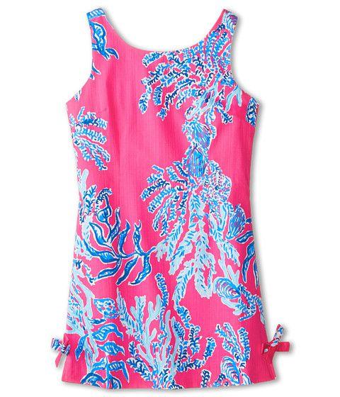 Lilly Pulitzer Kids Little Delia Dress (Little Kids/Big Kids) Capri Pink - Zappos.com Free Shipping BOTH Ways