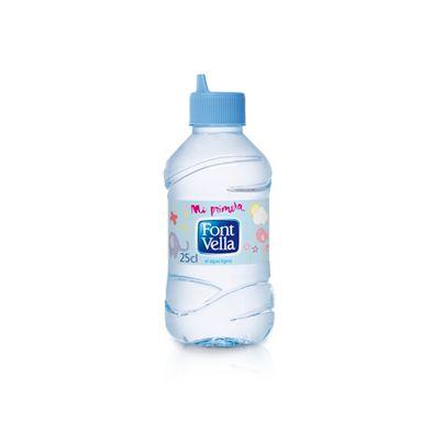 Font Vella – Mi Primera Font Vella  Mi Primera Font Vella, el producto pensado y adaptado para tu bebé, para que pueda beber solito. Con su diseño ergonómico y su boquilla especial, tu bebé podrá disfrutar del agua que te ha cuidado durante generaciones. Con la máxima calidad y una composición única. Inalterable.