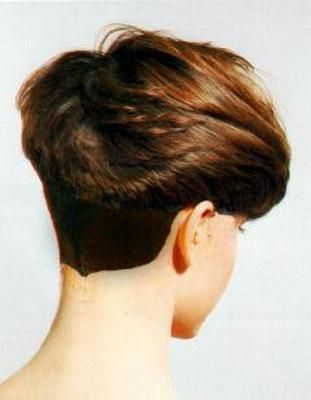 The 97 Best Wedge Cuts Images On Pinterest Short Hairstyle Hair