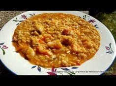 Arroz meloso de sepia y langostinos - La cocina de Masito