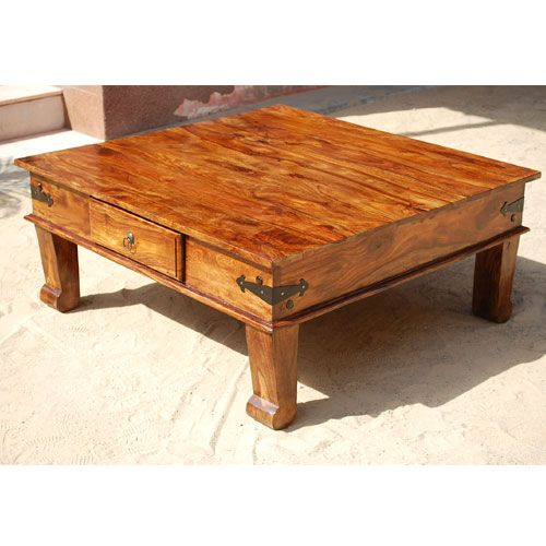 Lincoln Study Square Keepsake Coffee Table is made with solid Indian  Sheesham hard wood  a. 164 best Coffee Tables images on Pinterest   Coffee tables  Rustic