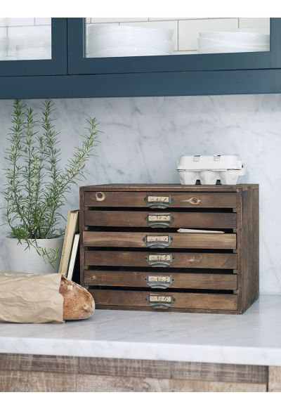 Wooden Set of Drawers - Storage