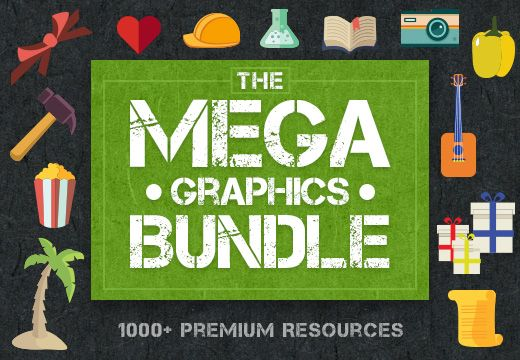 The Mega Graphics Bundle with 1000+ Premium Resources – From $49 List Price: 	$2,790.00 Our Price: 	$49.00 You Save: 	$2,741.00 (98.20%)
