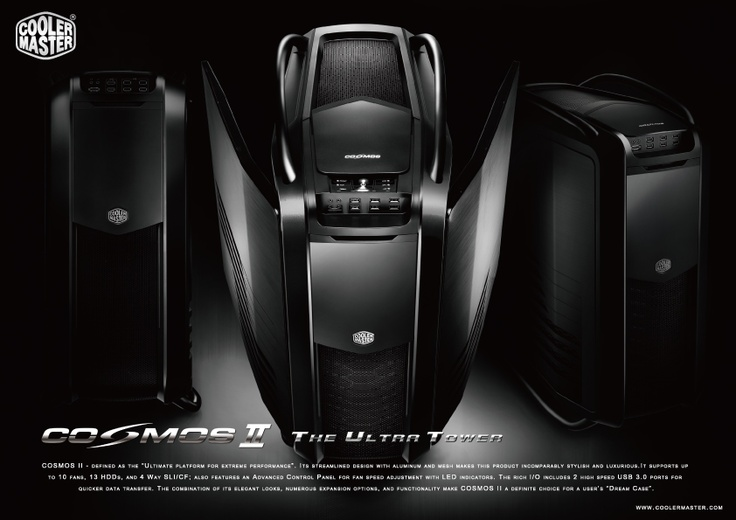 Cooler Master Cosmos II Ultra Tower for Ultimate Gaming Experience