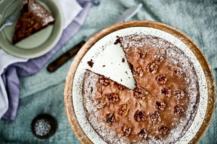 Kitchenette — Švýcarský ořechovo-čokoládový koláč