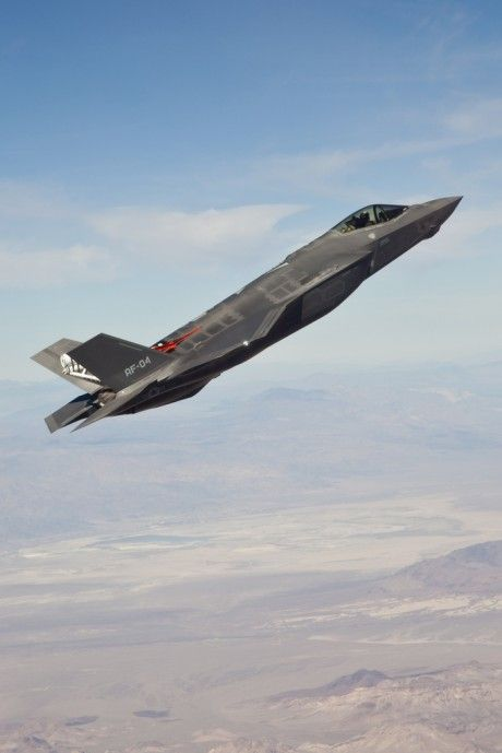 The Aviationist » F-35 high angle of attack tests reach 50-degree limit