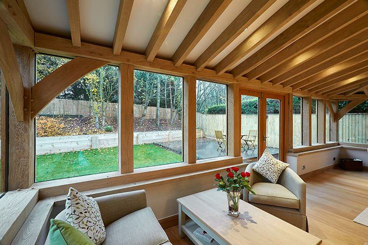 27 best images about conservatory on pinterest gardens for Oak framed garden room