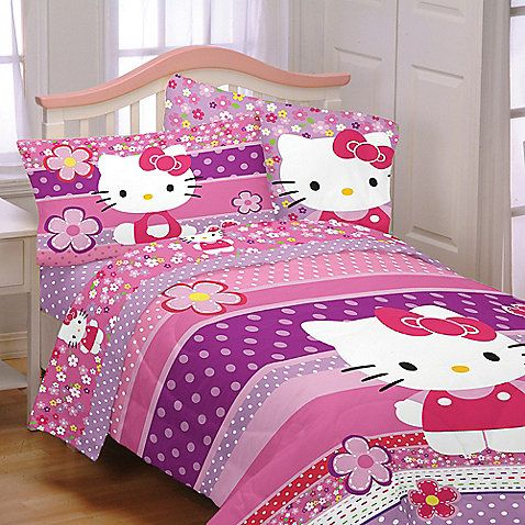 Hello Kitty Bedding And Bath Collection
