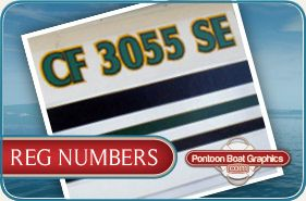 Custom #PontoonBoat #boat  #registration #3mvinyl #graphics and #decals   Check out our selection of custom #pontoon #boat #registration.    Follow this board for our newest, latest #graphicdesign when it comes to custom boat registration..   All of our #BoatRegistration #Decals come with set of two outdoor decals. #UVcoated, fuel and fade resistant. Easy to apply.  For more info visit: http://pontoonboatgraphics.com/products/reg-numbers/