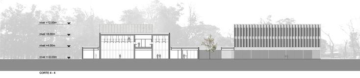 Galería de Primer Lugar en concurso del complejo cultural de la Universidad Nacional de Moreno / Argentina - 21