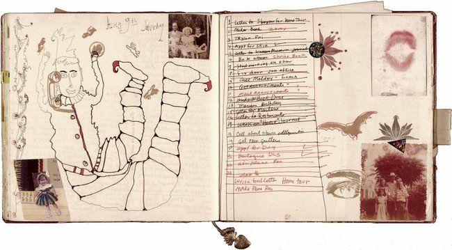 Journal of the artist Janice Lowry.