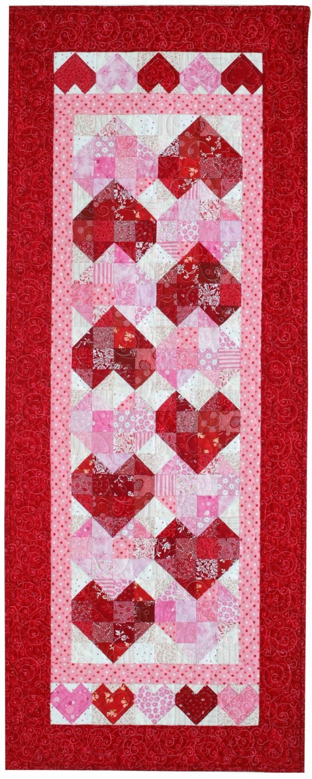 39 Best Images About Valentines Quilts Wall Hangings And