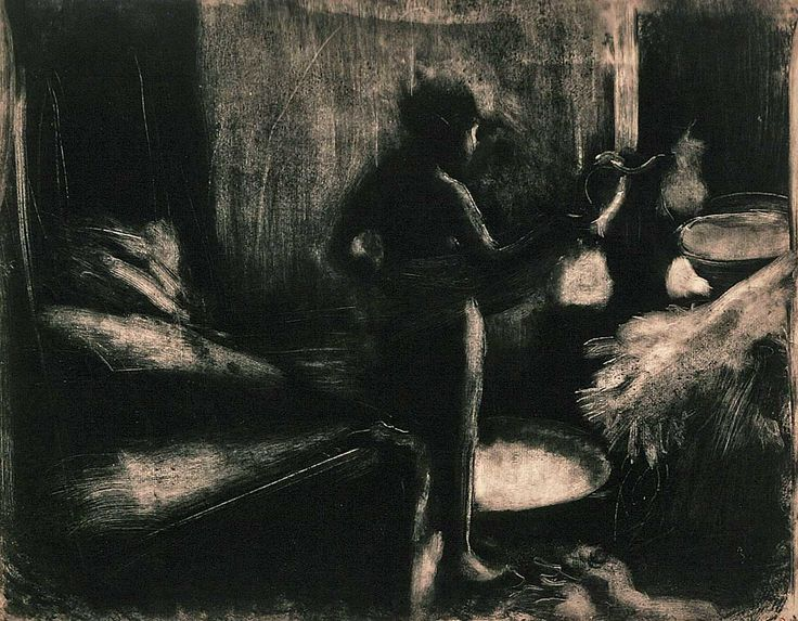Notes et nuances: Monotypes Edgar Degas