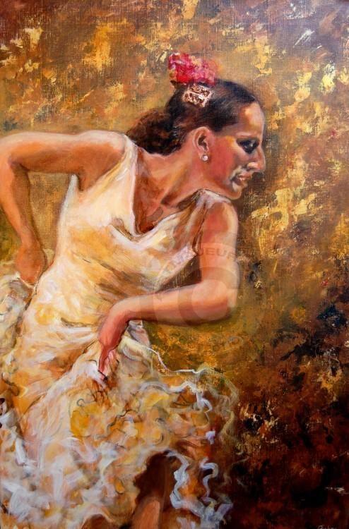 Isabelle Jacq Gamboena - Bailando por Alegrias