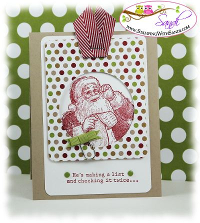 Santa's List by SandiMac - Cards and Paper Crafts at Splitcoaststampers