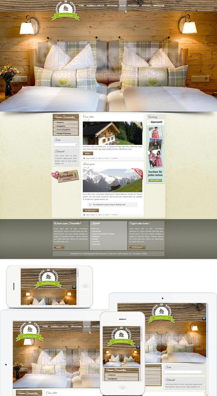 Project: ferienhütten.tirol