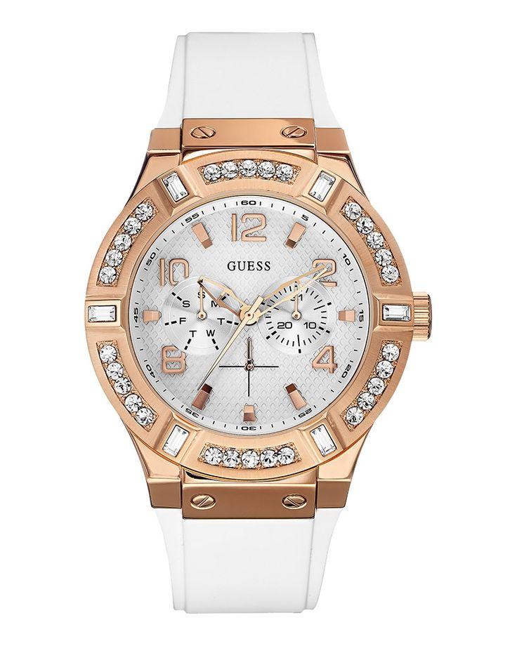 Ρολόι Guess Ladies Crystal Multifunction Rose Gold W0614L1