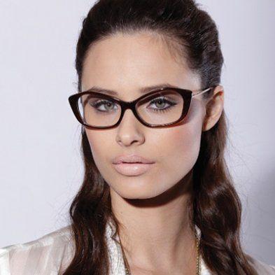 Armação Óculos de Grau 5523 Marrom Demi e Cobre Feminino
