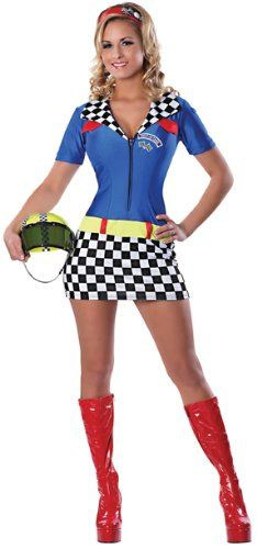 Sexy Race Car Driver Costumes