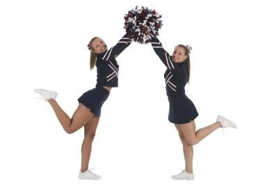 mini cheer camp ideas. Ways to get to know and trust each other.