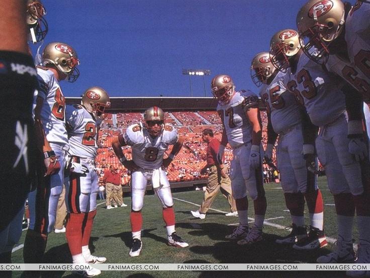 San Francisco 49ers Players StandingTogether