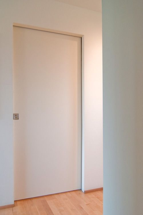 Beautiful pocket door | between the bedroom and the study and to access the bedroom -to save floor space