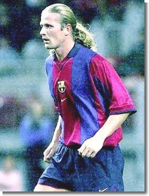 Emmanuel Petit played club football for Monaco, Arsenal, Barcelona, and Chelsea. A midfielder, he made 23 appearances for Barca in the 2001-2002 season.