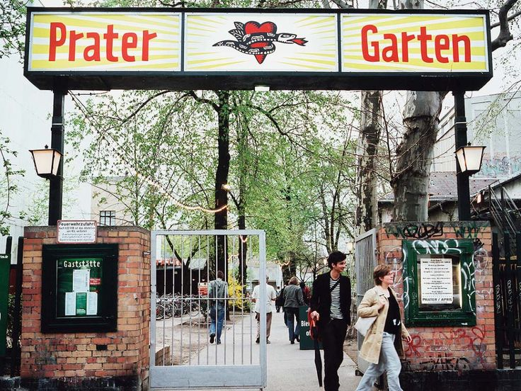Beautiful Prater Garten Berlin