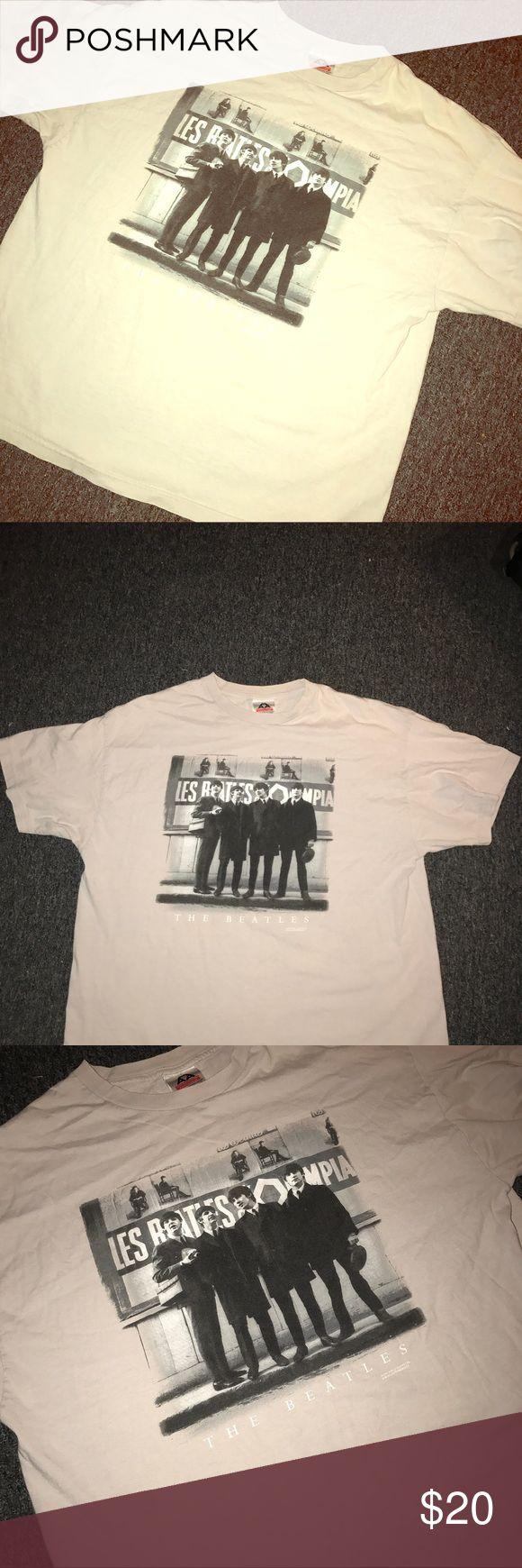 Vintage Beatles T shirt Clean rare over seas Vintage Beatle t shirt Shirts Tees - Short Sleeve