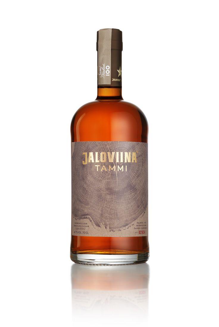 Jaloviina Tammi package design